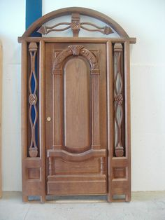 puerta exterior rústica Exterior Madera 003