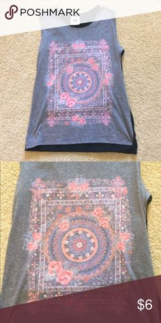 shirt small mandala tank top from cotton on Cotton On Tops