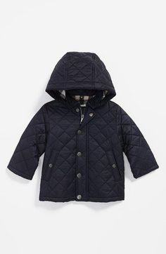 baby boy quilted jacket | @Nordstrom