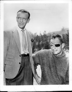 1961 Fred Astaire & Charlton Heston