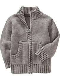 @Amber Tate Toddler Boy Clothes: Sweaters | Old Navy, $14, 2T grey or navy