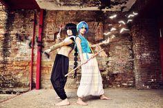 #Tutorial: #Aladdin from #MAGI - #TheLabyrinthofMagic #Cosplay Vía: LauraNiko & Miyuki Kurame Cosplay