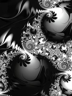 Fractal Digital Art - Baubles by Amanda Moore
