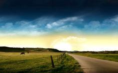 The prairie landscape photography wallpaper Desktop Background