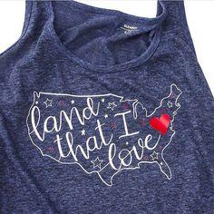Only a few days left to make a cute festive shirt like @meredith_unoriginalmom  #redwhiteandblue