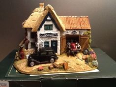 Lilliput Lane THE Country Garage L2701 | eBay
