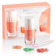 Nail Diva 3D Nail Art Kit Yummy Peach