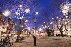 Sloane Square in Chelsea, London.