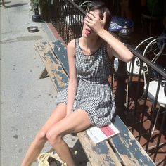 """Alexa is a """"hot mess"""" at Cafe Mogador Alexa Chung Style, Star Wars, Poppy Delevingne, Giovanna Battaglia, Sienna Miller, Daily Fashion, Role Models, Chloe, Fashion Outfits"""