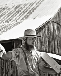 A Life in the Sun  - Amish Auction 4 bw by Silver Image, via Flickr