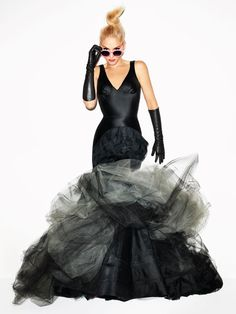 What do you think of Gwen Stefani's Barbie looks in Harper's Bazaar?
