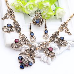 Like and Share if you want this  Vintage Turkish Jewelry Sets For Women Retro Gold Color Earring Ring Bracelet Necklace Flower Resin Rhinestone Turkey Jewelry     Tag a friend who would love this!     FREE Shipping Worldwide     Buy one here---> http://jewelry-steals.com/products/vintage-turkish-jewelry-sets-for-women-retro-gold-color-earring-ring-bracelet-necklace-flower-resin-rhinestone-turkey-jewelry/    #earrings