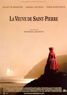 La veuve de Saint-Pierre - prachtig geacteerd kostuumdrama naar waar gebeurd verhaal van de regisseur Patrice Leconte. Met Daniel Auteuil en Juliette Binoche. Lees erover op http://www.fransefilms.nl/la-veuve-de-saint-pierre/