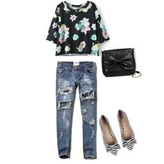 So cute by michellelhay on Polyvore featuring polyvore, fashion, style, Abercrombie & Fitch, Sam & Libby and Sole Society