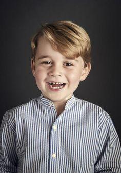 Prince George's 4th birthday portrait 22nd July 2017