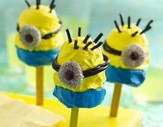 Minion Pops | Pillsbury Recipe. #DespicableMe