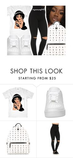 """Bobby B!tch x Bobby Shmurda"" by queenswag245 ❤ liked on Polyvore featuring NIKE and MCM"