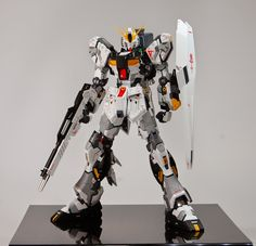 MG 1/100 FA-93HWS Nu Gundam Ver Ka - Customized Build     Best of Show Award (Large Scale) Winner -  GBWC Anime Expo Regional Contest:   Mi...