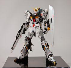MG 1/100 FA-93HWS Nu Gundam Ver Ka - Customized Build     Best of Show Award (Large Scale) Winner - GBWC Anime Expo Regional Contest:  Mi...
