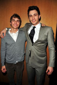 Dave & James Franco - Had no idea they were brothers :)