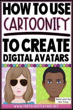 How to Use Cartoonify to Create Digital Avatars (The Techie Teacher) Narrativa Digital, Get To Know You Activities, Create An Avatar, Image Film, Flipped Classroom, Library Lessons, Google Classroom, Getting To Know You, Educational Technology