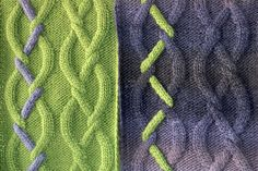 Tendril Scarf - free until Jan. 15th - pattern by Fiona Oliver