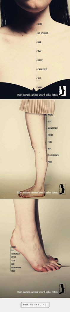 Distractify | You'll Rethink Judging A Woman By Her Clothes After One Look At This Campaign - created via http://pinthemall.net