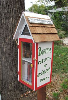 A little free library