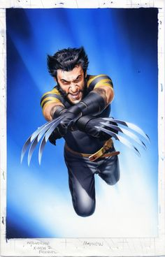 Unpublished X2:Wolverine Cover by mikemayhew.deviantart.com on @deviantART