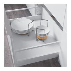 VARIERA Plate holder IKEA The plate holder is adjustable, so you can customize the width based on the size of your plates.