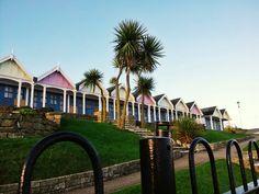 Beach huts at Weymouth