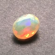 Faceted Australian White Opal Gemstone (1.46 ct) 11x9 mm Oval Rated: 5 / 5 based on 5 customer reviews $60 In stock Product description: Opal is a stone of inspiration which enhances imagination and c
