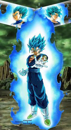 Vegito Ssj Blue, Gogeta And Vegito, Dragon Ball Z, Dragon Ball Image, Z Tattoo, Bling Wallpaper, Seven Deadly Sins Anime, Son Goku, Epic Characters