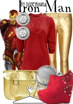 Disney Bound - Iron Man