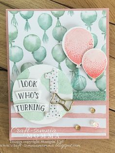 Craft-somnia Momma: Birthday Boutique Birthday Girl - SU - Balloon Celebration