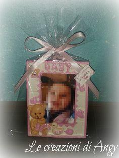 Cornicetta baby, idea regalo o bomboniera