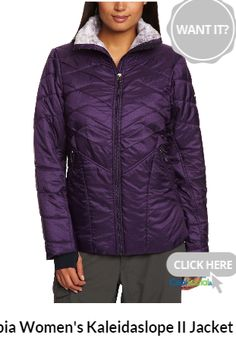 Columbia Women's Kaleidaslope II Jacket for more details visit http://coolsocialads.com/-columbia-women-s-kaleidaslope-ii-jacket-98279