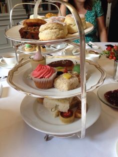 Afternoon tea at Cliveden House Berkshire