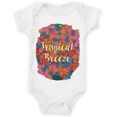 Body de bebê Tropical Breeze de @jurumple | Colab55