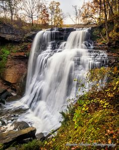 Brandy Wine Falls, Cuyahoga Valley National Park- loved it here need to go back! Oh The Places You'll Go, Places To Travel, Places To Visit, Travel Destinations, Beautiful Waterfalls, Beautiful Landscapes, Cuyahoga National Park, Beautiful World, Beautiful Places