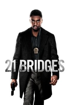21 Bridges An embattled NYPD detective, is thrust into a citywide manhunt for a pair of cop killers after uncovering a massive and unexpected conspiracy. As the night unfolds, lines become blurred on who he is pursuing, and who is in pursuit of him. Taylor Kitsch, Good Movies To Watch, Top Movies, Sienna Miller, Tous Les Films Marvel, Tv Series Online, Movies Online, Movie List, Movie Tv