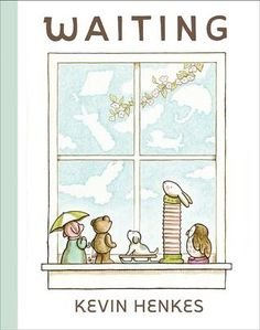 Waiting by Kevin Henkes reviewed by Katie Fitzgerald @ storytimesecrets.blogspot.com