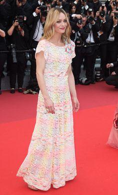 Vanessa Paradis en robe Chanel de la collection croisière 2016-2017 et bijoux Chanel Joaillerie