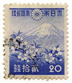 stamp - Japan - 269 1940 Fuji