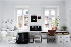 kontor-office-hjemmekontor-kontorplads-indretning-boligindretning-interior-hvid