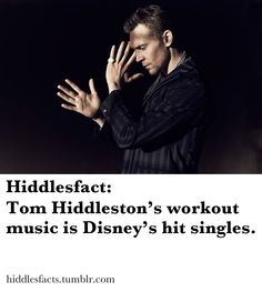 Hiddlesfact....this is why I love him