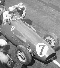 Alberto Ascari Ferrari 500 GP Gran Bretagna 1953