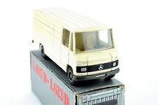 "Cursor Model Mercedes-Benz L407D L508D Mint in original Box / OVP ""Made in Germany"" Scale 1:50/1:43?1:50 crème"