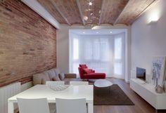 Pisos con encanto en Barcelona y Madrid - ELIX Casa Pop, Dining Room, Dining Table, Industrial Chic, Barcelona, Sweet Home, Loft, Interior Design, Furniture