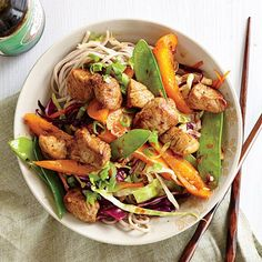 Craving a yummy stir fry but don't want to be weighed down by the grease? Courtesy of Cooking Light, this smoky pork stir fry gets its depth from smoked paprika and a thin drizzle of sesame oil. Trimmed pork tenderloin adds a source of lean protein. This recipe pairs well with brown rice or soba …